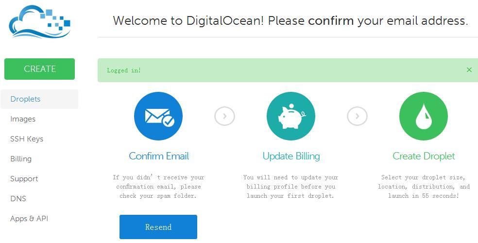 digitalocean 2014注册及使用简单教程-VPS推荐网