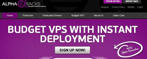 AlphaRacks- 美国vps主机 OpenVZ 2G内存 10GHDD 3T流量 $3.99/m-VPS推荐网
