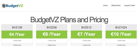 【特价VPS】 budgetvz - 3.2欧/年 OpenVZ  1核 128M 洛杉矶-VPS推荐网