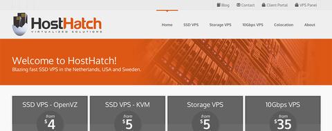 HostHatch-香港vps主机 OpenVZ 2核 256M 30G 1T 1Gbps 香港SL $8/季-VPS推荐网