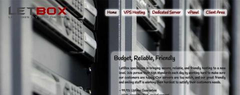 LetBox KVM 2g内存 20gSSD/3T流量 20gDdos保护 $4.95/m-VPS推荐网