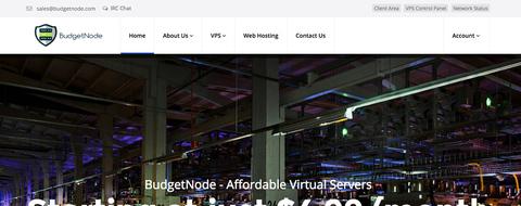 BudgetNode - OpenVZ 1核 256M 20G 1T 100Mbps 阿什本 $12/年-VPS推荐网