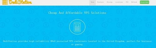 DediStation – OpenVZ VPS  2G内存 英国伦敦 年付15美元-VPS推荐网