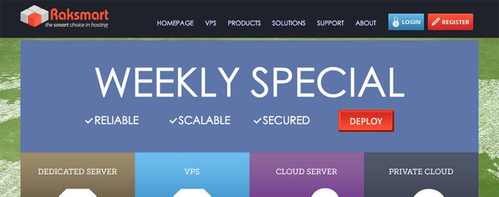 RakSmart独立服务器优惠 E3-1230v5 15G 1Gbps 圣何塞 $99/mo-VPS推荐网