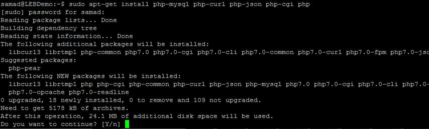 如何在Ubuntu 16.04系统下配置Apache, MySQL, PHP