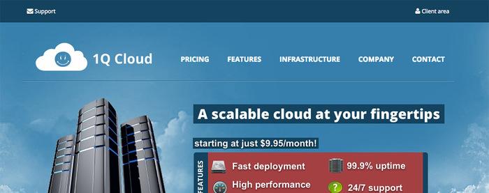 1QCLOUD 美国Xen VPS主机优惠码 主机不限流量-VPS推荐网