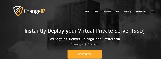 ChangeIP 洛杉矶 KVM VPS主机1GB内存方案  简单使用-VPS推荐网