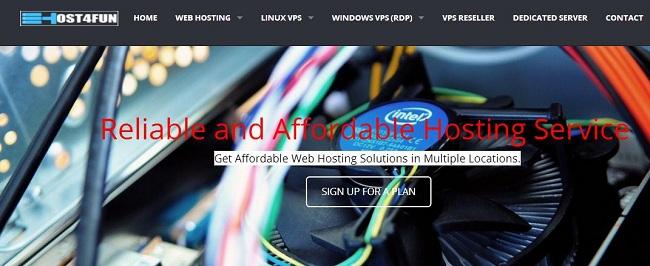 Host4Fun 洛杉矶vps服务器/KVM/2G内存 月付7美元