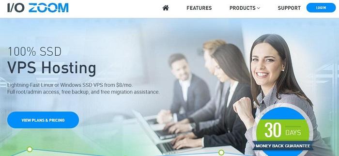 ioZoom 稳定型美国vps服务器/KVM/1GB/20G SSD/1TB 洛杉矶 $5/月-VPS推荐网