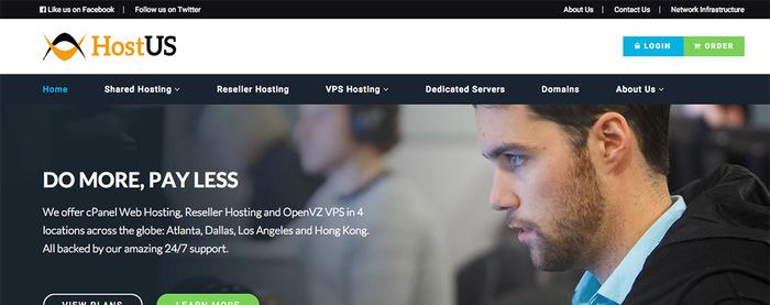 HostUS 美国KVM VPS优惠码与特价openvz 年付VPS主机,支持支付宝-VPS推荐网