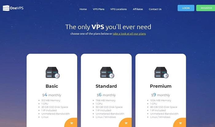 OneVPS 新加坡与日本KVM VPS服务器一次性5折优惠/流量充足