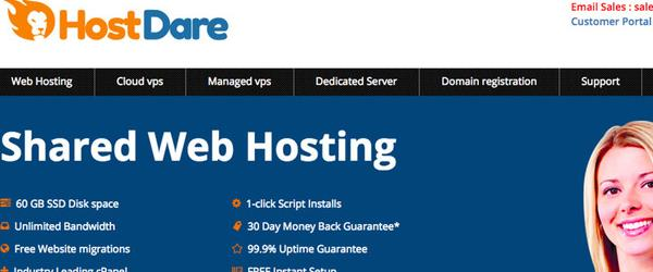 hostdare 晚到的美国KVM VPS优惠码/CN2 GIA线路-VPS推荐网