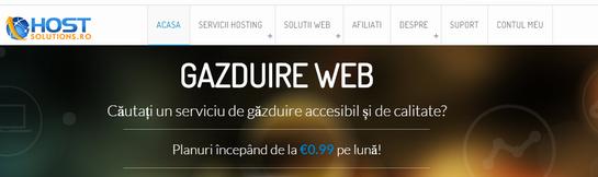 HostSolutions 便宜服务器/罗马尼亚/月付14.5欧元起