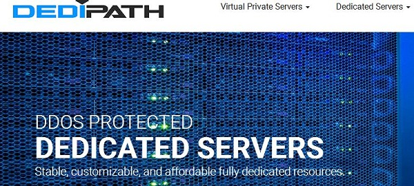 dedipath 2018双十二美国VPS优惠码,可选KVM与OVZ系列,不限流量