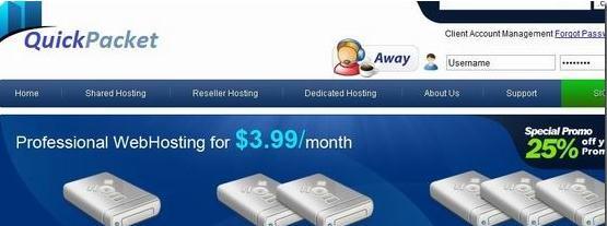 QuickPacket 美国服务器折扣/L5520/24G内存/128 GB SSD/1Gbps 月付40美元