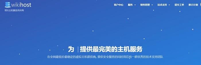 维基主机 香港VPS主机优惠/香港cera机房/香港CMI机房/1G内存/100Mbps带宽/年付525元
