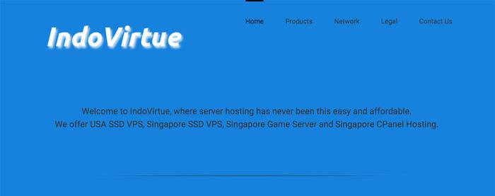 IndoVirtue 新加坡独立服务器优惠/100Mbps不限流/月付49.5美元-VPS推荐网