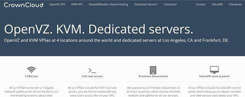 CrownCloud 美国KVM VPS服务器/洛杉矶地区/2G内存/月付5美元/2TB流量/1Gbps带宽-VPS推荐网