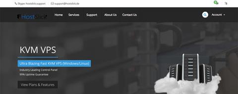 HostSlick 荷兰VPS主机/OVZ架构/便宜VPS主机/年付13.99美元&KVM架构/年付20美元起-VPS推荐网