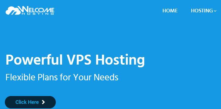 WelcomeHosting便宜海外VPS主机/KVM架构/1Gbps带宽/洛杉矶/4G内存/年付42美元-VPS推荐网