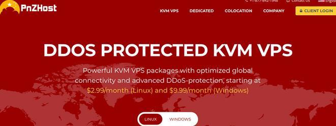 PnZHost 便宜VPS主机/KVM架构/洛杉矶&纽约/100Mbps/年付7.2美元起-VPS推荐网