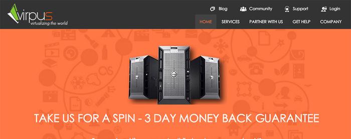 virpus 便宜西雅图XEN VPS服务器/linux系统/7月3.5折优惠/年付17.85美元起/流量比较充足-VPS推荐网