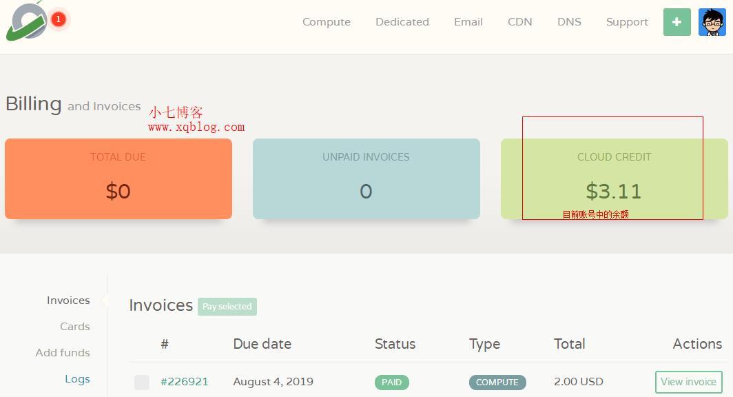 实战:CloudCone VPS的月付/年付特价VPS未到期,删除之后余额会退回吗?-VPS推荐网