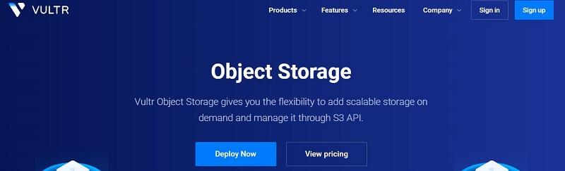 消息:Vultr新品Object Storage(对象存储)产品上线与新注册赠送50美元优惠-VPS推荐网