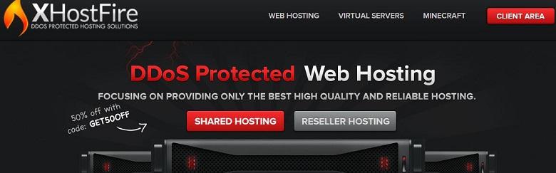 XhostFire韩国1Gbps大带宽KVM VPS服务器/768M内存/10GRAID 10/月付7美元起-VPS推荐网