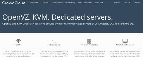 CrownCloud大容量VPS服务器年付25美元起&SSD硬盘VPS服务器年付25美元起-VPS推荐网