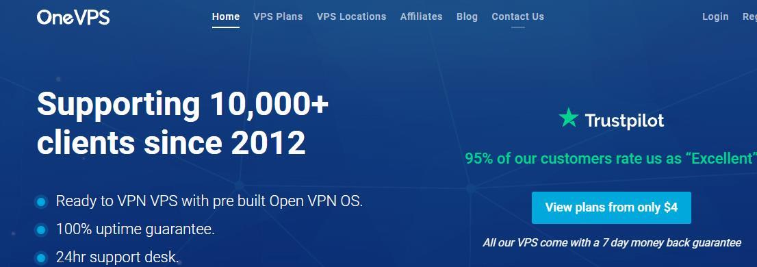 OneVPS日本VPS服务器1Gbps带宽75折优惠/月付3.75美元起/流量充足-VPS推荐网