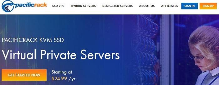 2020年2月pacificrack便宜VPS服务器再次推送/1G内存/2T月流量/年付仅需9.99美元/洛杉矶自营机房-VPS推荐网