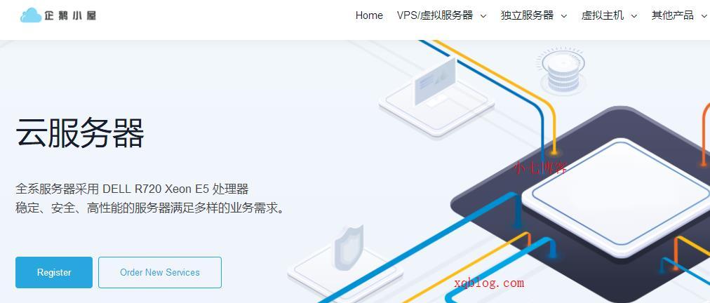 企鹅小屋香港CN2较大带宽KVM VPS主机调整/100Mbps带宽/1G内存/月付33元起-VPS推荐网