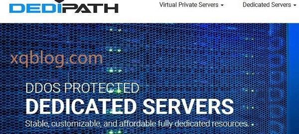 dedipath美国洛杉矶与新泽西服务器月付39元起/1Gbps端口/月流量10TB/16G内存等